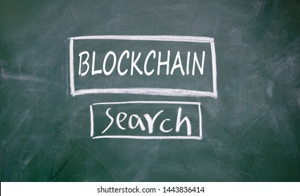 Search blockchain information sign on blackboard