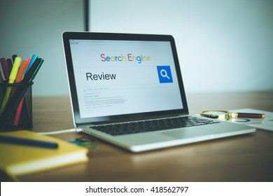 Search Engine Concept: Searching REVIEW on Internet
