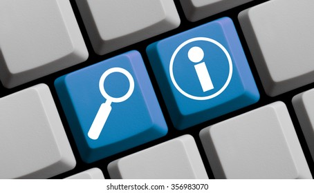 Search for Information online