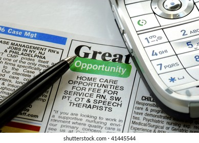 Search the right job and ready to make a call