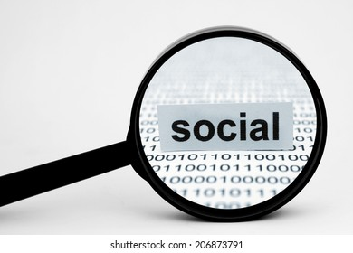 Search for social media