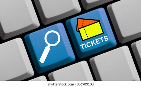 Search for tickets online