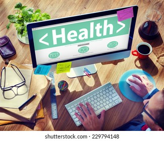 searching health website