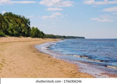 Seascape of the Gulf of Riga.