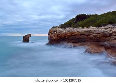 Seascape long exposure