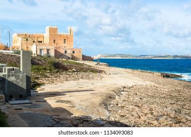 seascape in malta