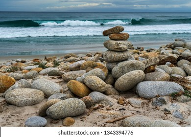 Seascape at Monterey coast. California