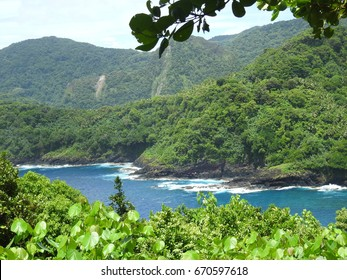 Seascape at the National Park of American Samoa