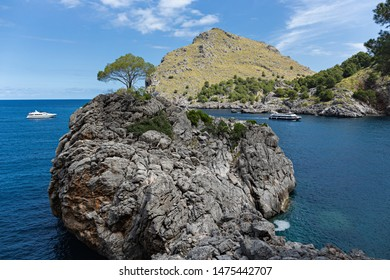 Seascape. North coast of the island of Mallorca, Spain