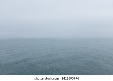Seascape ocean and horizon background and concept