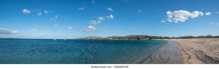 Seascape in Sardinia in October