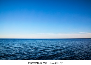 TRANQUIL SEASCAPE SEA OCEAN Art Print Poster Relaxing Imagery Horizon Picture