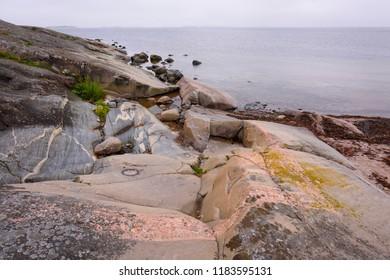 Seascape in september