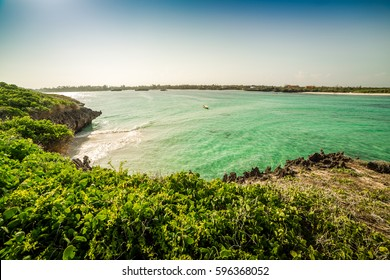 Seascape in Seven Islands area, Watamu, Kenya