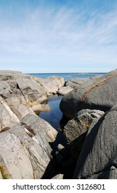 Seascape from south of norway