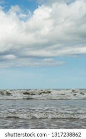 Seascape, Wadden sea, Ameland holland