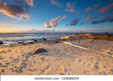 seascape-Baltic sea,Wolin Island,Poland