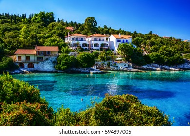 Seascapes near Fiscardo, Kefalonia, Greece