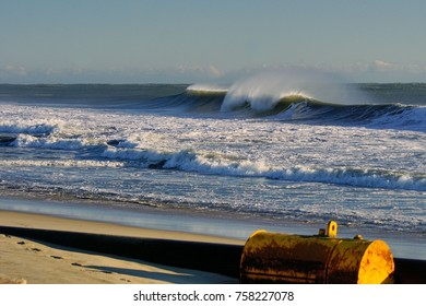 Seascapes of Pristine Beaches of the Outer Banks of North Carolina