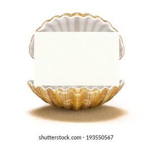 seashell-card