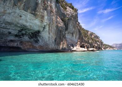 Seashore in the Golfo di Orosei on Sardinia island, Italy