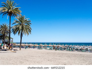 Seaside background image from Spain