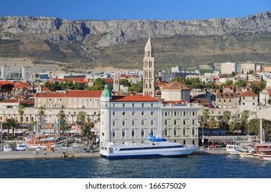 Seaside city. Split, Croatia