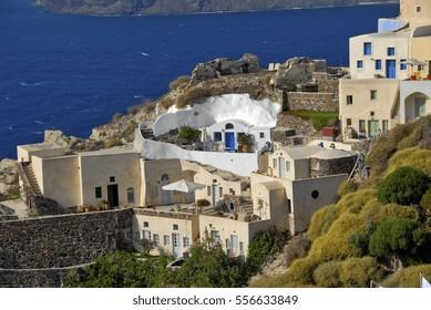 Seaside Homes in Beautiful Santorini, Greece