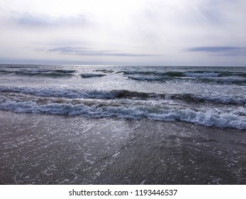 Seaside in Lido di Jesolo, Italy