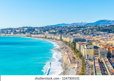 Seaside of Nice, France