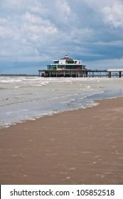 Seaside pier in Blankenberge, Belgium