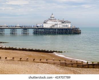 Seaside pleasure Eastbourne Pier, East Sussex, England