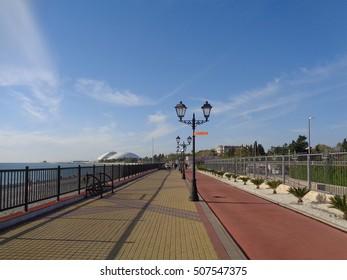 Seaside promenade, Sochi, Russia