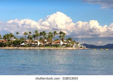 Seaside resort in Alcudia, Spain