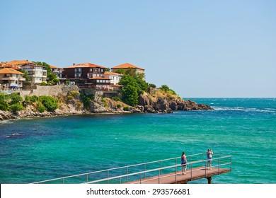 The seaside resort of Sozopol in Bulgaria
