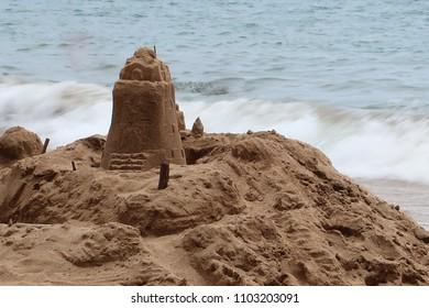 Seaside Sand Castle