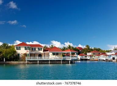 Seaside Villas near Jolly Harbour in Antigua.