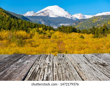 Season changing from autumn to winter. Rocky Mountains, Colorado, USA.