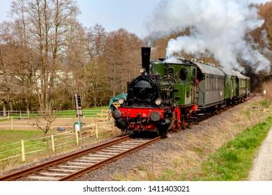 Season opener at the steam locomotives