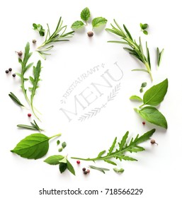 seasoning Herb; restaurant menu; cooking background