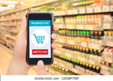 Seasoning, smartphone and internet shopping