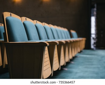 Seat Front Row in Auditorium Business lecture seminar Business education
