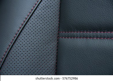 Seat Leather perforation