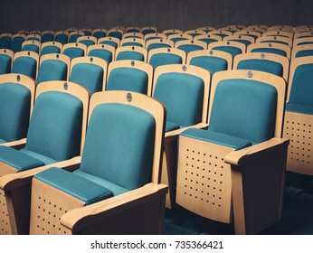 Seat Row in cinema Movie theater