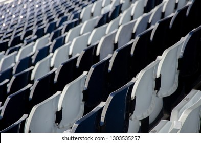 seat at the sport stadium