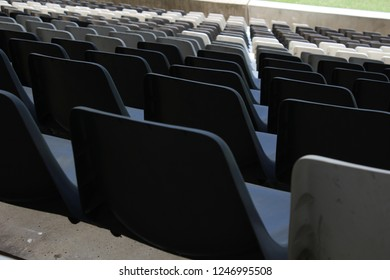Seating inside arena