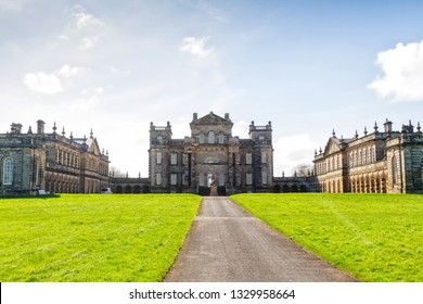 Seaton Delaval Hall in Northumberland, England, UK