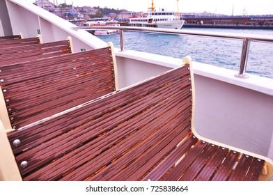 seats in ferryboat