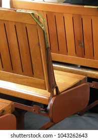 Seats on a NOLA Streetcar
