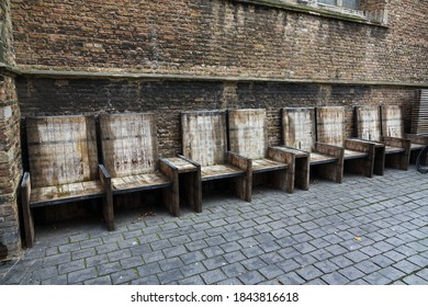 Seats at the Sint Jacobskerk, Vlissingen